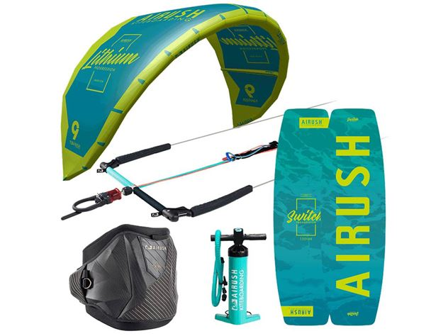 2020 Airush Lithium Progression V3 Package Deal - 140 cm, 8 metre