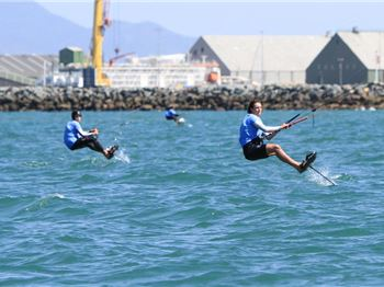 Kitefoiling Championships at Sail Melbourne