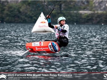 UPPER AUSTRIA KiteFoil Grand Prix Traunsee 2020 - Day 2