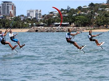 Kite Foiling takes over Townsville - Kitesurfing News