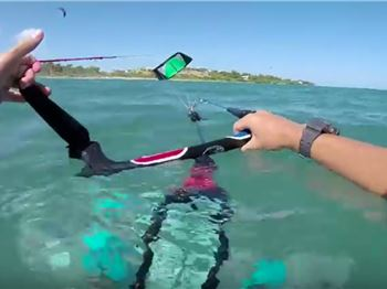 How to relaunch a C Kite - the Easy Way! - Kitesurfing News