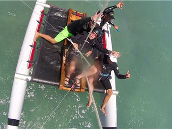 100 yr Old Man Goes Kiteboarding for his Birthday! - Kitesurfing News