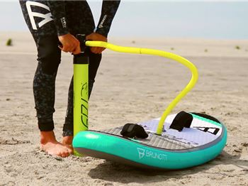 Twintip Kite Foil Released with Inflatable Board! - Kitesurfing News