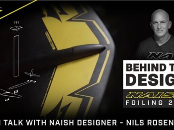 Inside the Mind of a Foil designer: Naish's Nils Rosenblad - Kitesurfing News