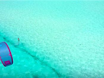 Foiling the Clearest Water in the World! - Kitesurfing News
