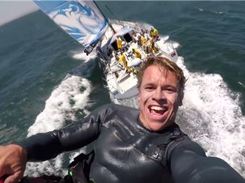 Kevin Langeree gets up close with the Volvo Ocean Race. - Kitesurfing News