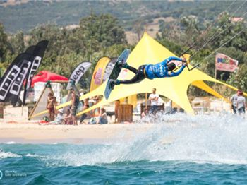 "GKA Kiteboarding ""Air Games"" world tour - first rounds"