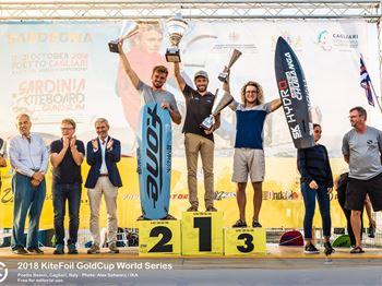 Nocher Crowned at KiteFoil World Series Final