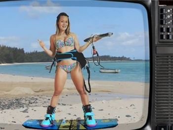 KiteZapped with Maureen Castelle - Kitesurfing News