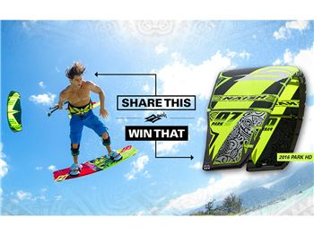Naish Caption Contest: Share to Win a 2016 Park HD - Kitesurfing News